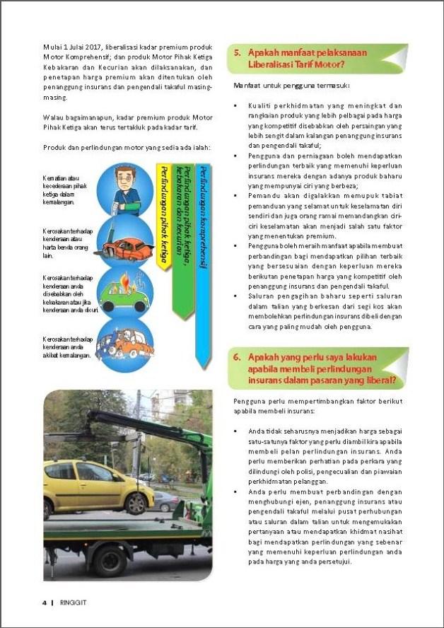 liberalisasi insurans motor kenderaan