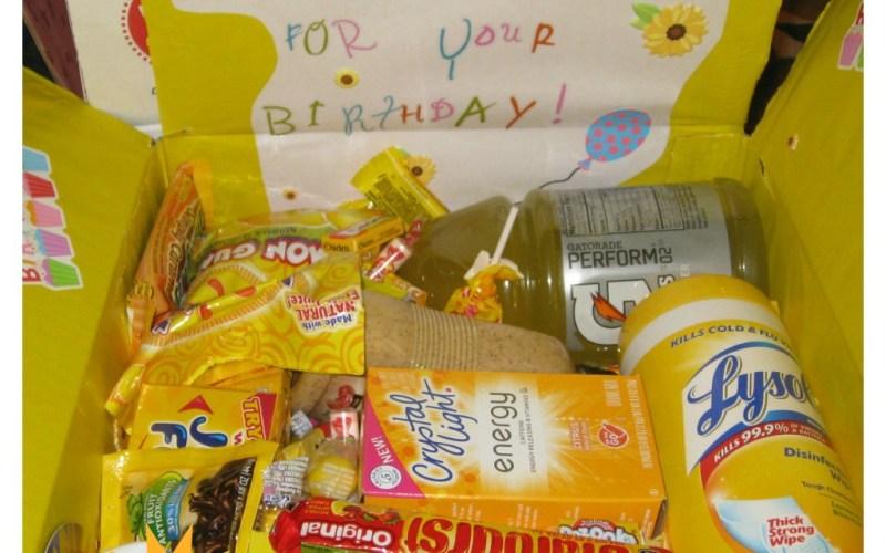 Sending Sunshine Care Package