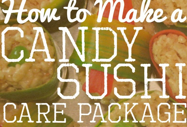 Candy Sushi Care Package