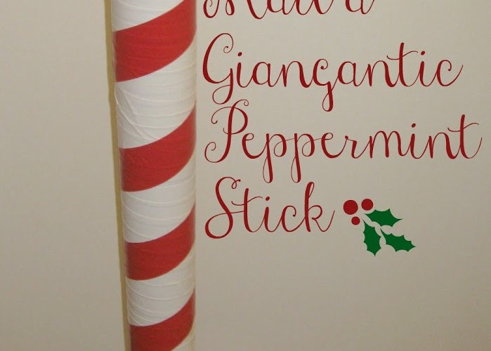 Mail a Gigantic Peppermint Stick