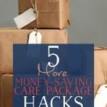 5 MORE Money-Saving Care Package Haks