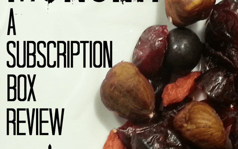 Review: Munchit Subscription Box
