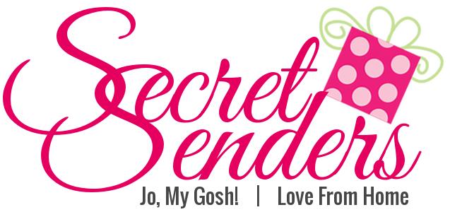 Secret Senders Ornament Link-Up