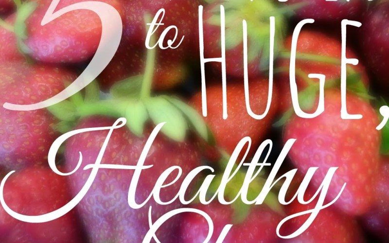 5 Tiny Steps to Huge, Healthy Changes #14daystoslim