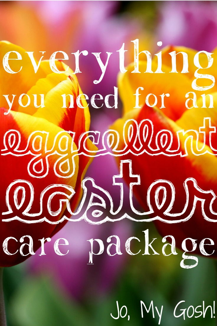 Everything You Need for an Eggcellent Easter Care Package