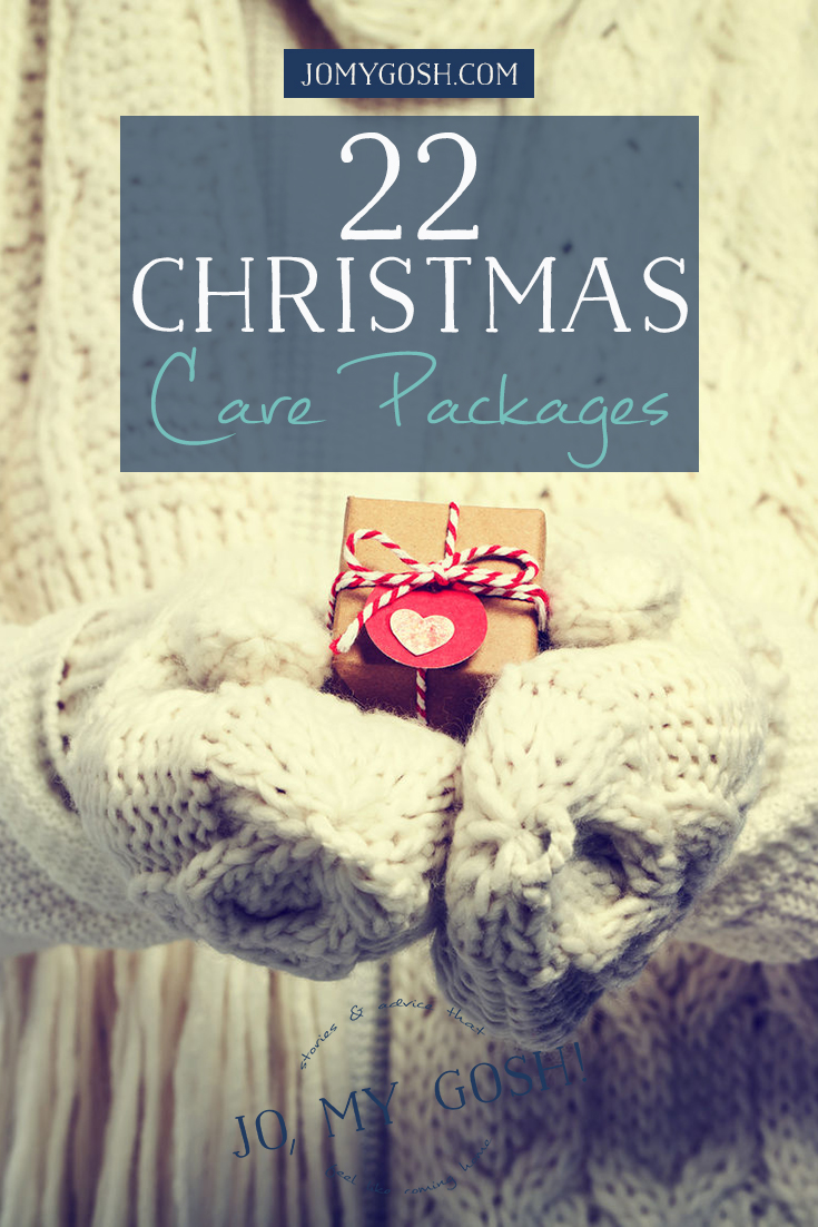 great list of christmas care packages