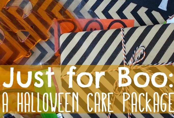Just for Boo: A Halloween Care Package