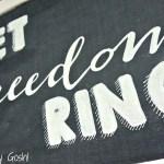 Patriotic Chalkboard Sign DIY (with Free Printable!)