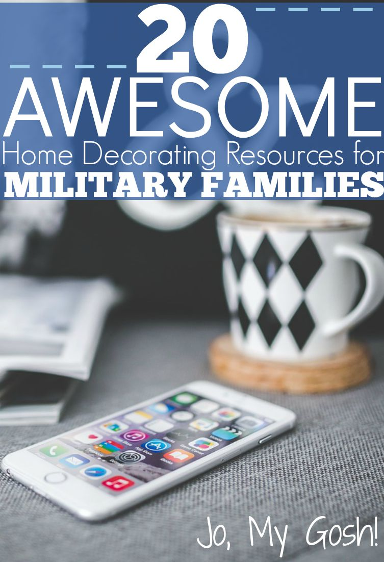 Love These Websites And Apps For Rental/base Housing Decorating! #milspouse  #milfam