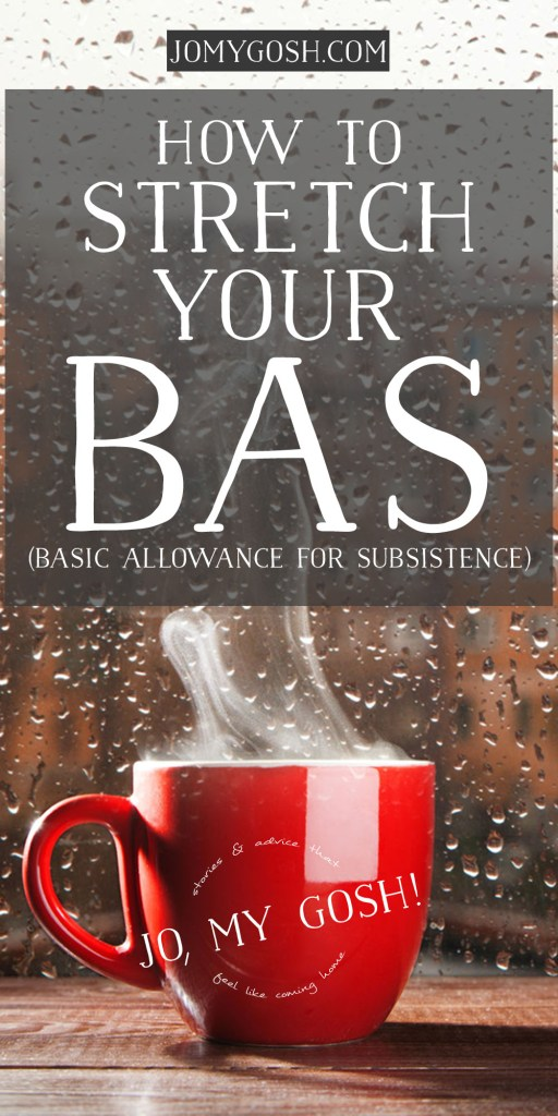 Save money on food with the BAS tips for military families and spouses.