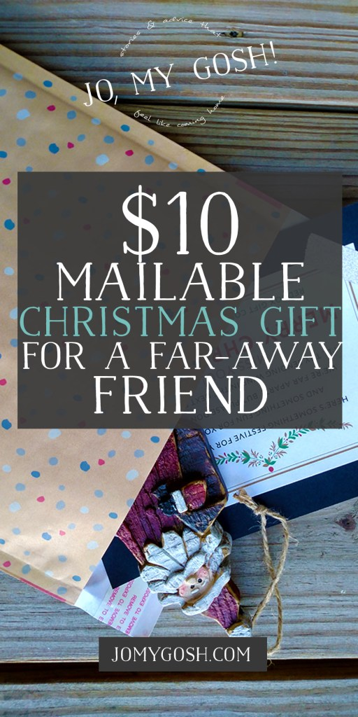 $10 gift idea for friends who are far away-- ornament, movie rental credit, and funny card! Free printable included. (3)