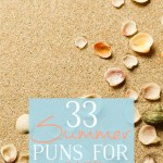 33 Summer Puns for Care Packages