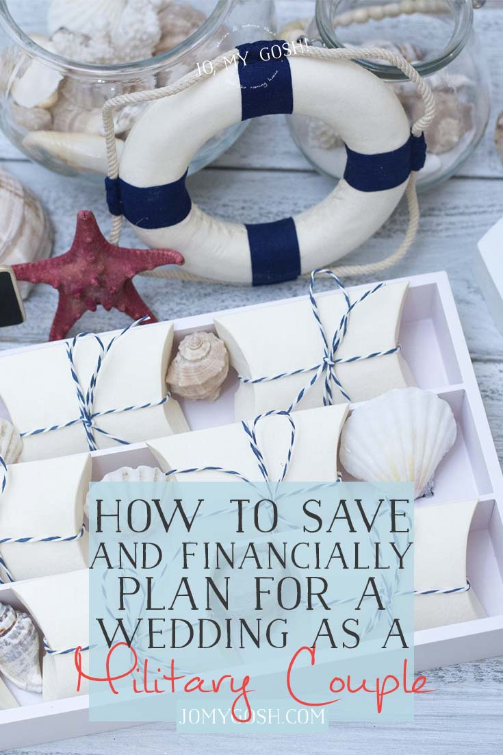 Practical tips for saving for a #military wedding #ad #militaryfiance #fiance #milso