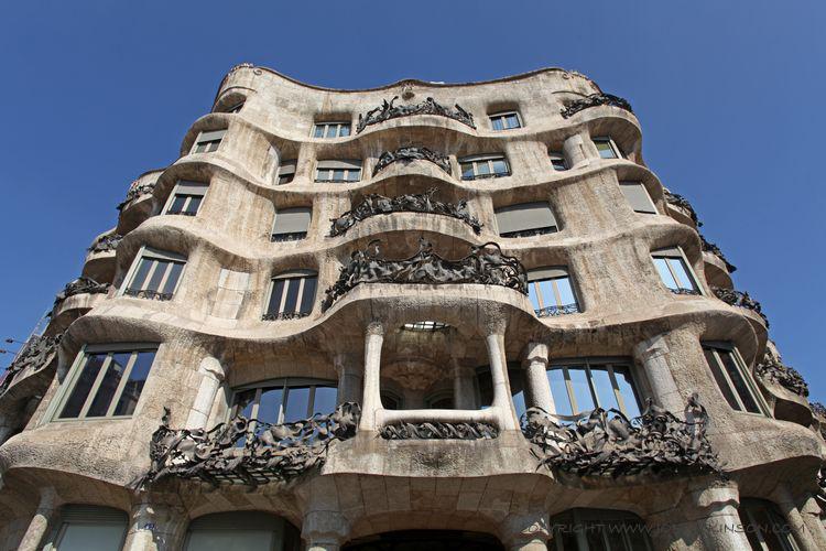 Barcelona Gaud Architecture  Barcelona Architecture Gaud Antoni Gaud Sagrada Familia