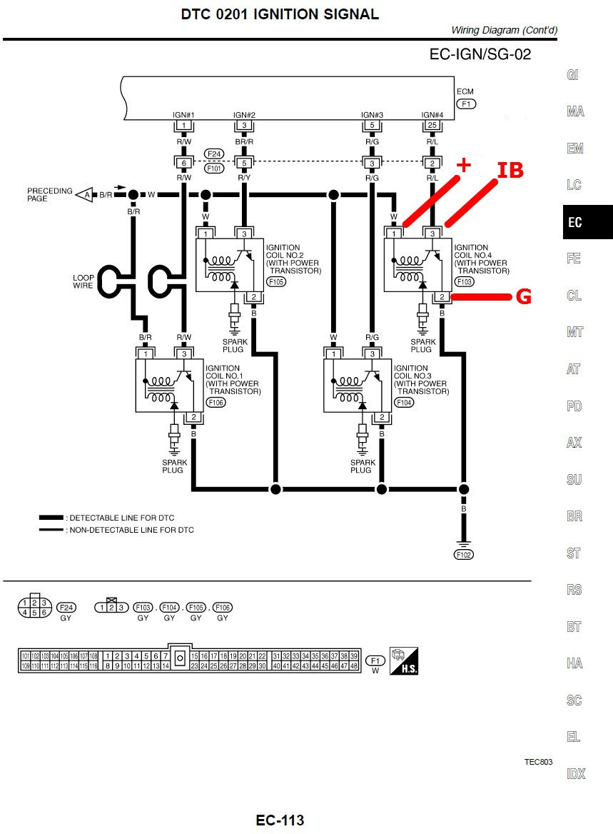 hight resolution of howto p10 p11 sr20ve coil on plug w 20v crank angle sensor plugs diagram click here to view