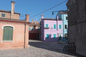 A quiet part of Burano, Venice.
