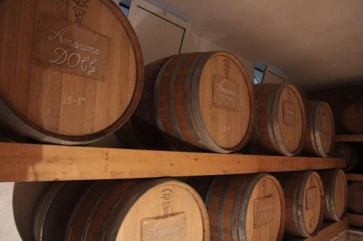 Amarone barrels, Valpolicella, Italy.