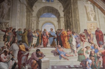 The School of Athens, by Raphael.