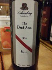 1996 d'Arenberg Shiraz Dead-Arm