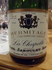 1996 Jaboulet Hermitage La Chapelle