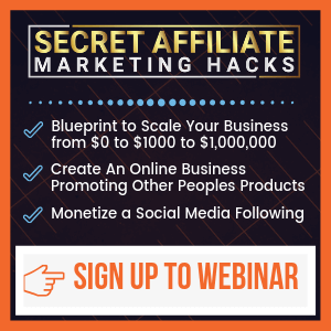 secret affiliate marketing hacks review zach crawford sidebar