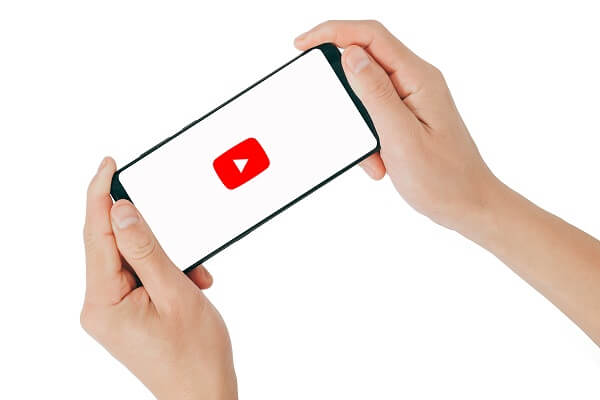 youtube app on mobile