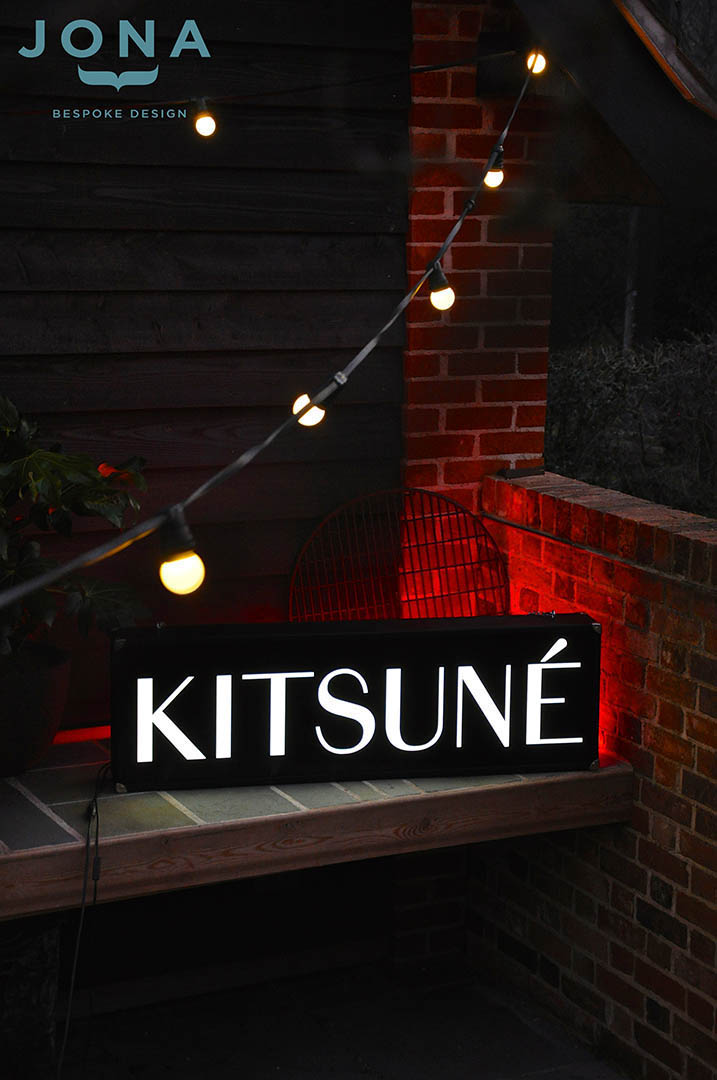 Maison - Kitsuné - light box