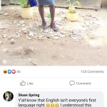 When English language is not your mother's tongue