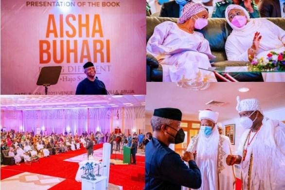 Aisha Buhari: Nigeria's First Lady Launches Book- Dangote gives N30m, Tinubu gives N20m