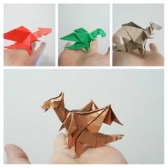 Intermediate Origami Dragon Diagram Vga Extension Cable Wiring Dragons Video And Diagrams Jo Nakashima