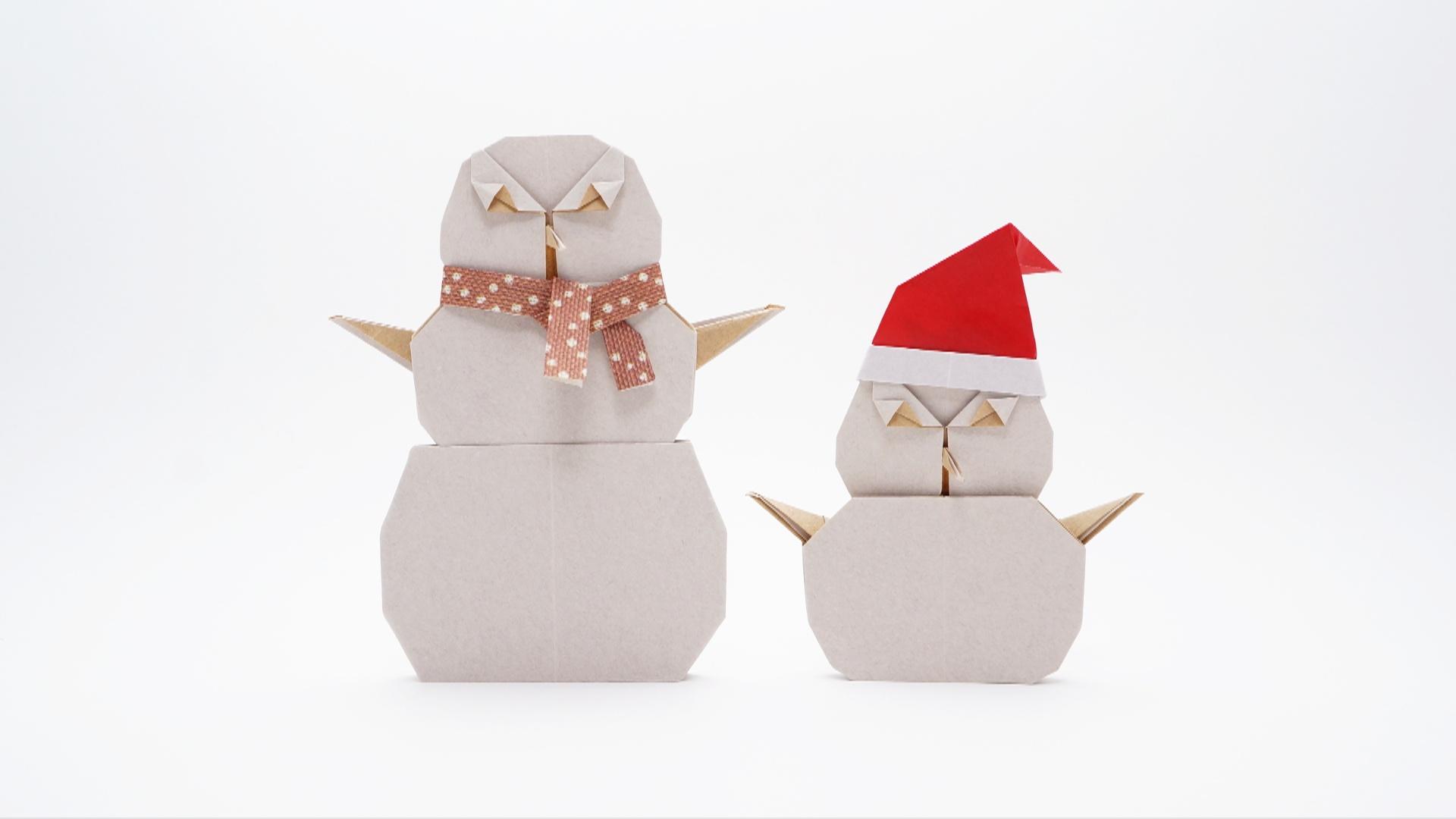 Origami Snowman - Jo Nakashima - photo#48