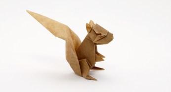 origami squirrel � diagrams � origami