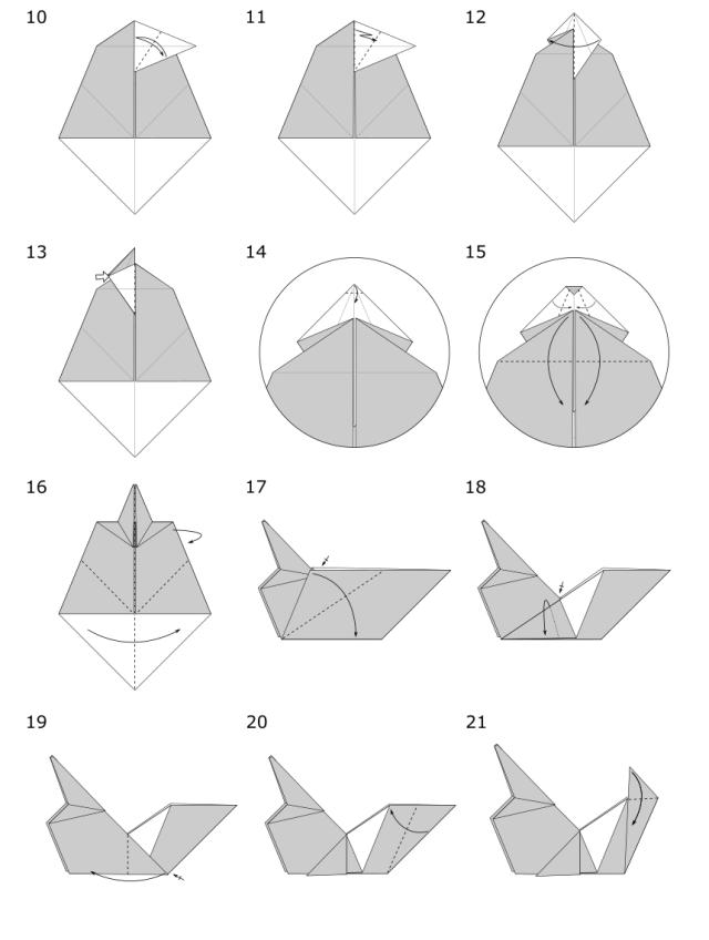 Origami Wolf Jo Nakashima