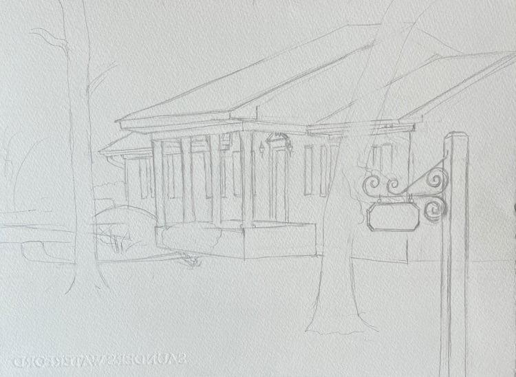 House Portrait Commission