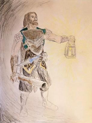 Random explorer, Warcraft inspired