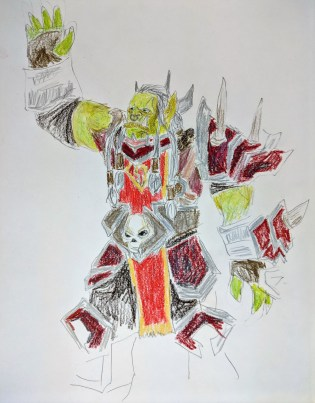 Overlord Saurfang, from Warcraft