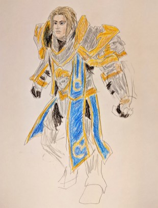 King of Stormwind, from Warcraft