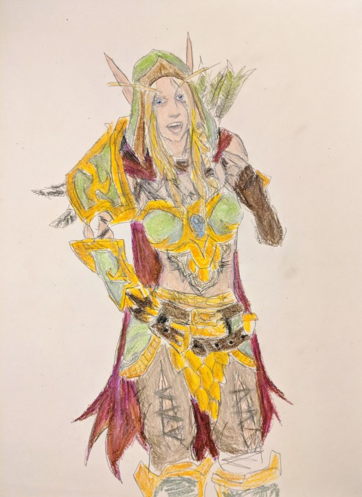 Elf from Warcraft