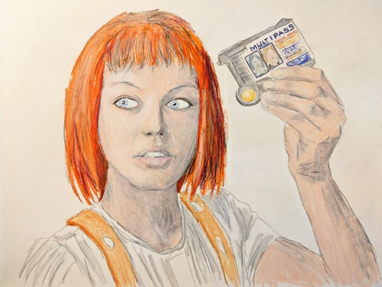 Leeloo Dallas Multipass (The Fifth Element)