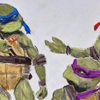 Drawing Models and Teenage Mutant Ninja Turtles