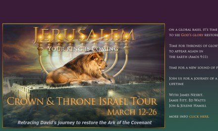 Crown & Throne Israel Tour—March 12-26!