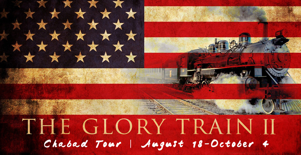 Announcing Glory Train II! Chabad Tour Overview