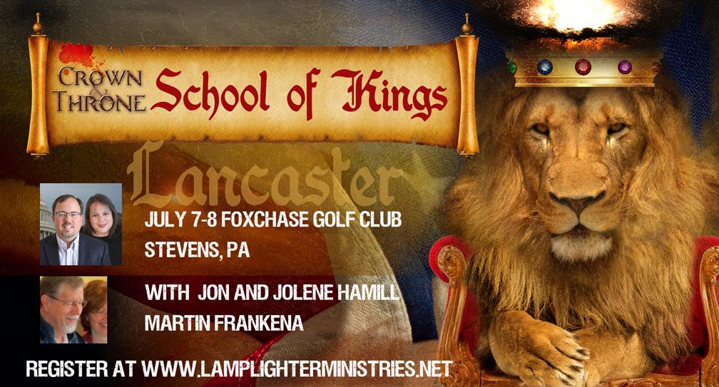 Crown Him! Lancaster School of Kings This Weekend!