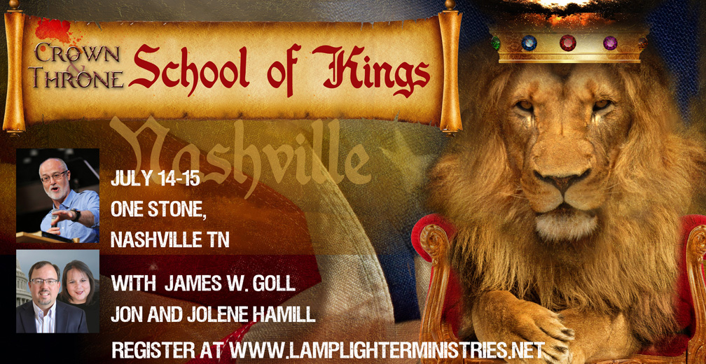 This Weekend—James Goll Joins Nashville School of Kings!