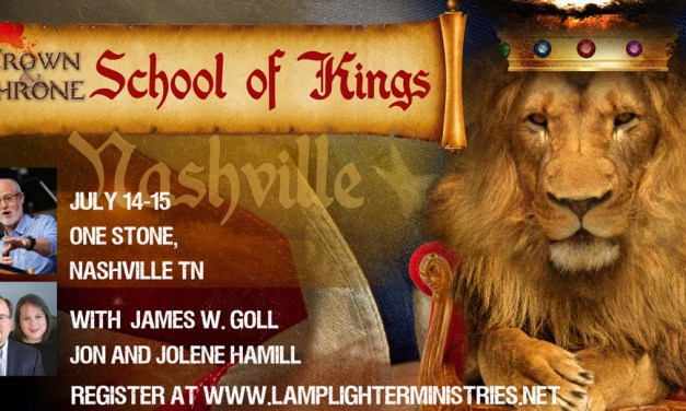 Tonight—Nashville School of Kings Begins! Live Webcast
