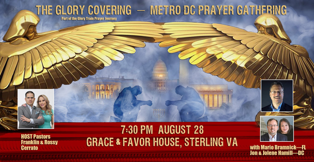 Tonight—Glory Covering—Metro DC Prayer Gathering!