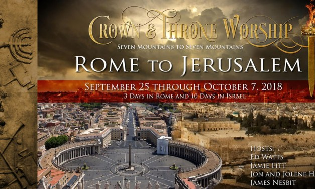 ROME TO JERUSALEM—Registration Open, Price Drop!