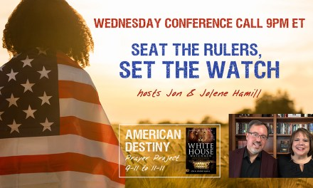 CALL TONIGHT—SEAT THE RULERS AND SET THE WATCH!