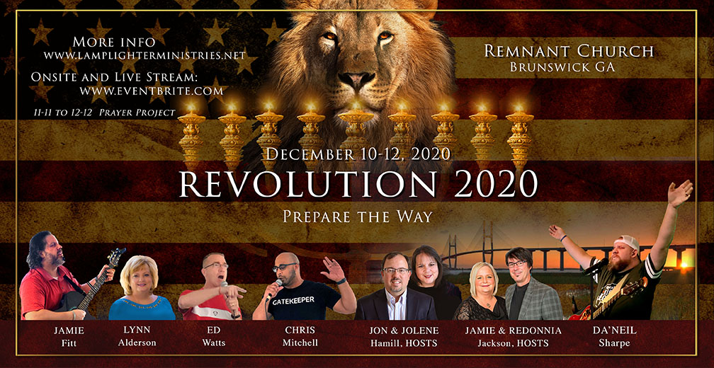 HAPPY HANUKKAH! REVOLUTION 2020 SCHEDULE