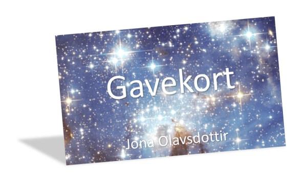 Gavekort Jona Olavsdottir